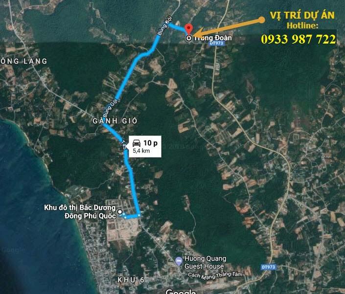 Mở bán ĐỢT 1 dự án đất nền thổ cư Khu Dân Cư Trung Đoàn Phú Quốc