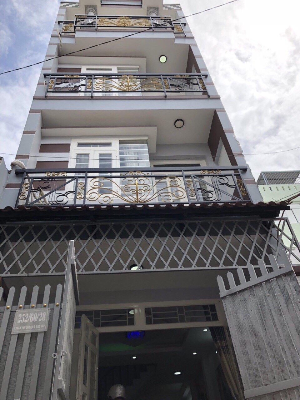 Nhà Bán Hẻm 252 Phạm Văn Chiêu, P.9, Gò Vấp